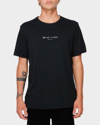 1 Grim Times T-Shirt  R182059 RVCA