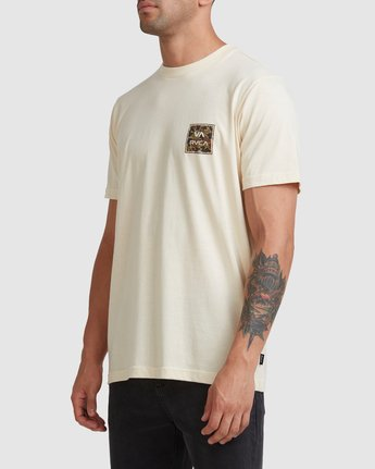 2 VA ALL THE WAYS MULTI TEE White R182062 RVCA