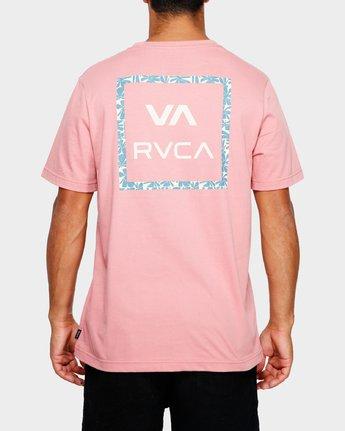 4 VA ALL THE WAYS MULTI TEE Pink R182062 RVCA
