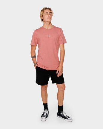 4 RVCA For Life Short Sleeve T-Shirt  R182068 RVCA