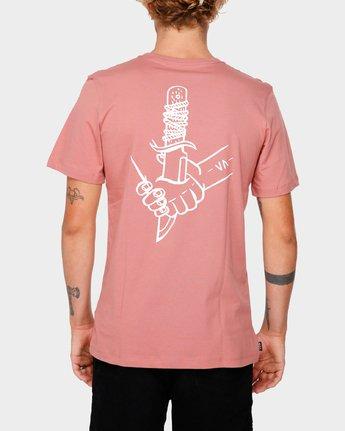 3 RVCA For Life Short Sleeve T-Shirt  R182068 RVCA