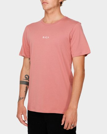 2 RVCA For Life Short Sleeve T-Shirt  R182068 RVCA