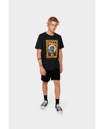 4 RVCA Monster T-Shirt  R182070 RVCA