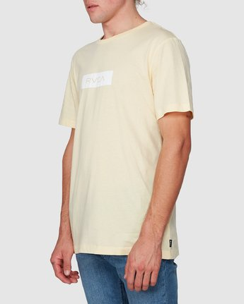 1 RVCA Box Short Sleeve T-Shirt  R182073 RVCA