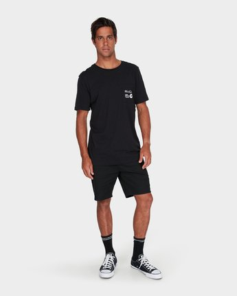 3 Anp Pocket T-Shirt  R183056 RVCA