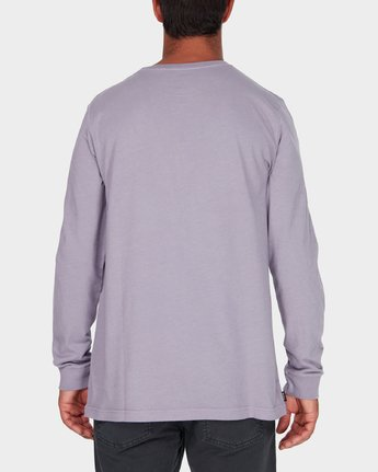 2 Savage Surf Club Long Sleeve Embroidery T-Shirt  R183107 RVCA