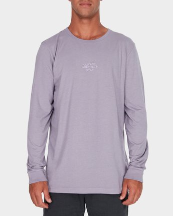 0 Savage Surf Club Long Sleeve Embroidery T-Shirt  R183107 RVCA