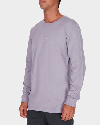 1 Savage Surf Club Long Sleeve Embroidery T-Shirt  R183107 RVCA