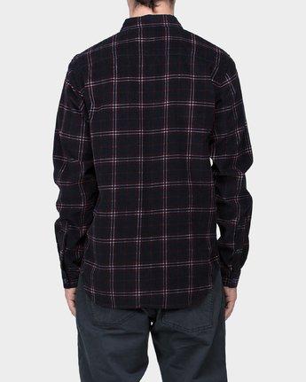 2 Tacked Long Sleeve Shirt  R183181 RVCA