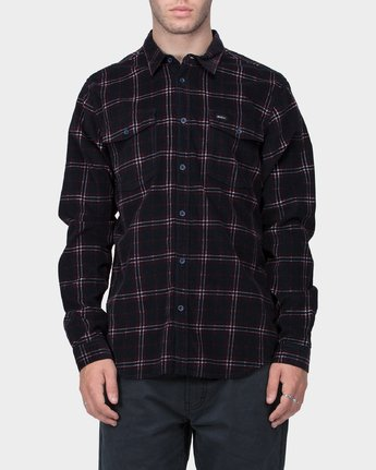 0 Tacked Long Sleeve Shirt  R183181 RVCA