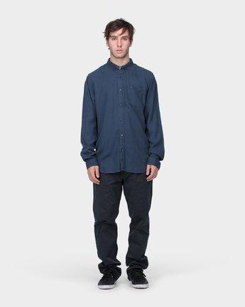 3 RVCA High Grade Tencil Long Sleeve Shirt  R183184 RVCA