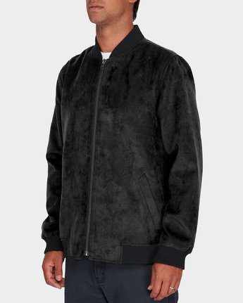 1 RVCA Suede Out Jacket  R183434 RVCA