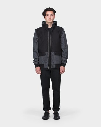 3 RVCA Trust The Puff Jacket  R183436 RVCA