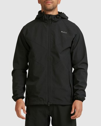 1 VA WINDBREAKER Black R183438 RVCA