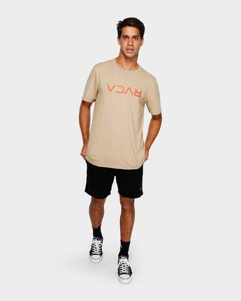 4 RVCA Flipped Short Sleeve Tee  R191046 RVCA