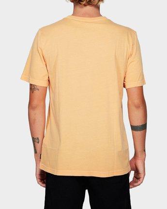 2 Focus 2.0 T-Shirt Orange R191048 RVCA