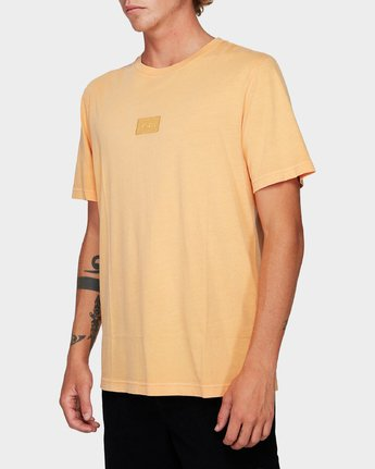 1 Focus 2.0 T-Shirt Orange R191048 RVCA
