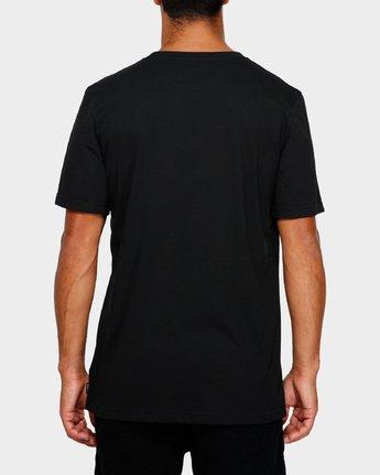 3 RVCA Oval T-Shirt  R191050 RVCA