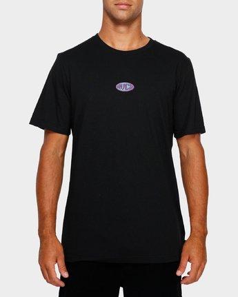 1 RVCA Oval T-Shirt  R191050 RVCA