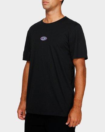 2 RVCA Oval T-Shirt  R191050 RVCA