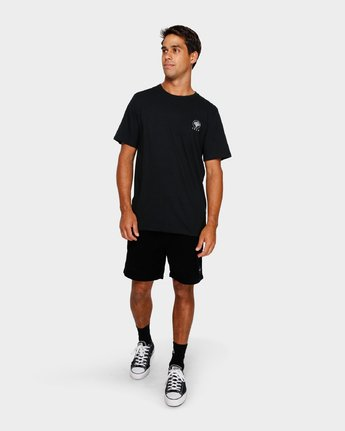 5 Split Decision T-Shirt Black R191055 RVCA