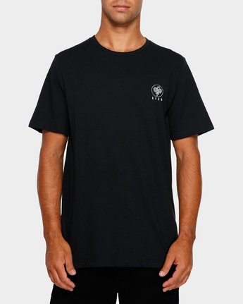 2 Split Decision T-Shirt Black R191055 RVCA