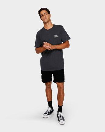 5 Check Mate T-Shirt Black R191057 RVCA