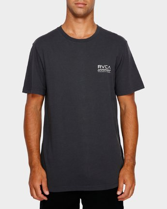 2 Check Mate T-Shirt Black R191057 RVCA