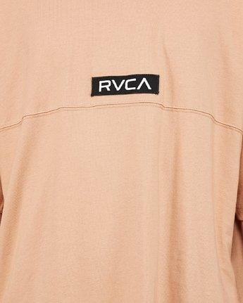 8 Harajuku Short Sleeve Tee Beige R191058 RVCA