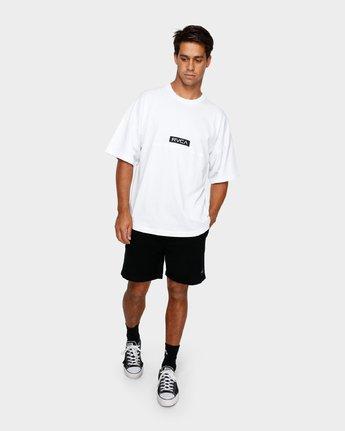 4 Harajuku T-Shirt White R191058 RVCA