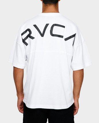 3 Harajuku T-Shirt White R191058 RVCA