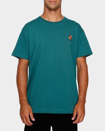 1 Mel G Flowers T-Shirt  R191061 RVCA