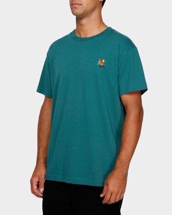 2 Mel G Flowers T-Shirt  R191061 RVCA
