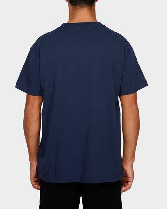 3 Smith Street Wicks T-Shirt  R191063 RVCA