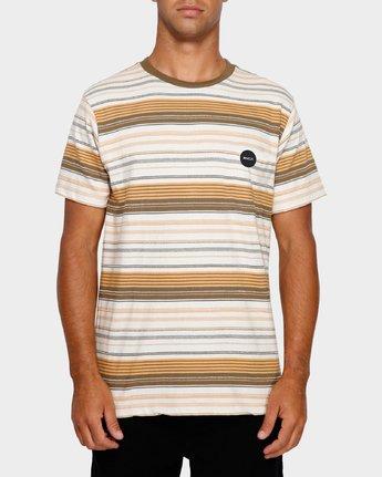 1 Deadbeat Stripe T-Shirt  R191064 RVCA
