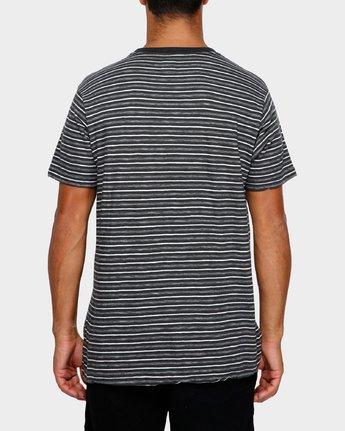 3 Foz Stripe T-Shirt  R191065 RVCA