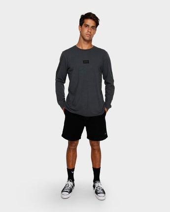 4 Focus 2.0 Long Sleeve T-Shirt Black R191091 RVCA