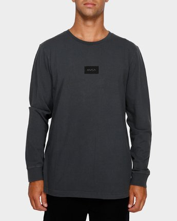 1 Focus 2.0 Long Sleeve T-Shirt Black R191091 RVCA