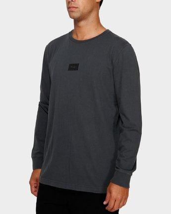 2 Focus 2.0 Long Sleeve T-Shirt Black R191091 RVCA