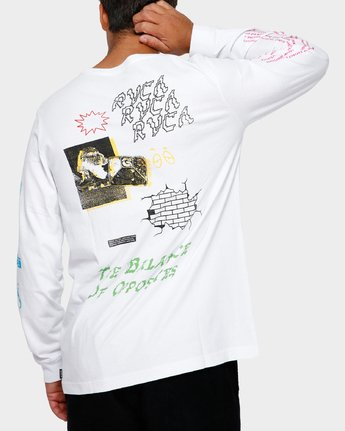 1 Tv Dinner Long Sleeve T-Shirt  R191092 RVCA