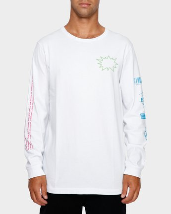 2 Tv Dinner Long Sleeve T-Shirt  R191092 RVCA