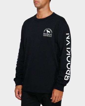 3 Smith Street Wicks Long Sleeve T-Shirt  R191094 RVCA