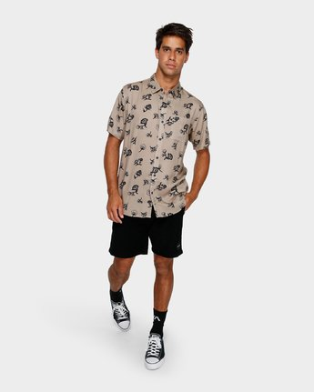 4 Flozza Short Sleeve Shirt  R191182 RVCA