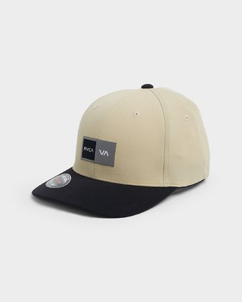 0 Warner Box Flexfit Cap  R191569 RVCA