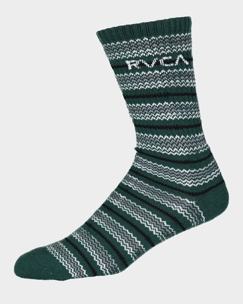 4 RVCA Allsorts Sock 4 Pack  R191603 RVCA