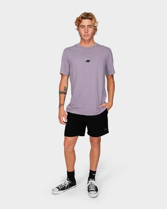 3 Web Short Sleeve T-Shirt  R192053 RVCA