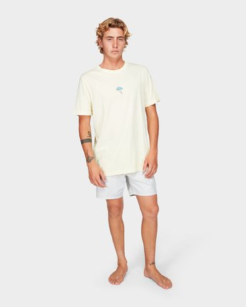 3 Southerly Buster Short Sleeve T-Shirt  R192056 RVCA