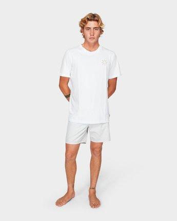 3 Paradiso Short Sleeve T-Shirt  R192057 RVCA