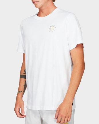 2 Paradiso Short Sleeve T-Shirt  R192057 RVCA