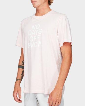 1 No Days Off Short Sleeve T-Shirt  R192058 RVCA
